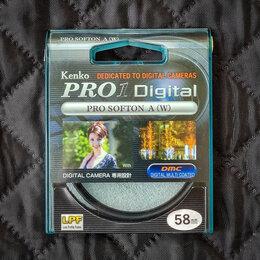 Светофильтры - Софт-фильтр Kenko PRO1D PRO SOFTON A 58mm, 0