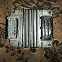 Двигатель и комплектующие - электронный блок управления ДВС Шевроле Ланос евро-3, 0