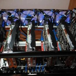 Промышленные компьютеры - Риг на GTX 1660 super 190Mh/s, 0