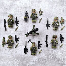 Конструкторы - Лего Военные, 0