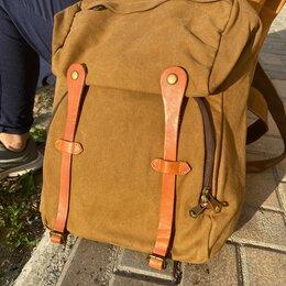 Рюкзаки - Рюкзак холщовый , 0