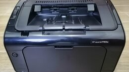 Принтеры и МФУ - Принтер лазерный с wi-fi HP LaserJet Pro P1102w, 0