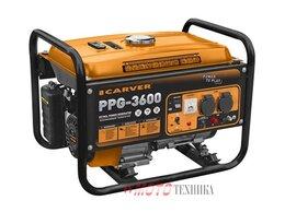 Электрогенераторы - Генератор бензиновый Carver PPG-3600, 0