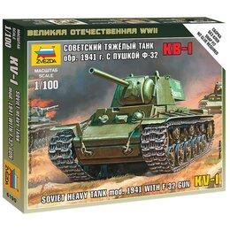 Сборные модели - Сборная модель Звезда Тяжелый советский танк КВ-1 , 0
