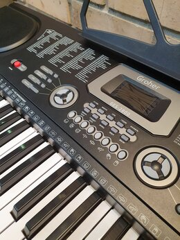 Клавишные инструменты - Синтезатор Groher GES-2800, 0