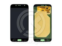 Дисплеи и тачскрины - Дисплей для Samsung J730F/DS Galaxy J7  +тач черн, 0