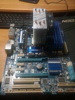 Процессоры (CPU) - 1156 X3470+плата+память+кулер+750ti, 0