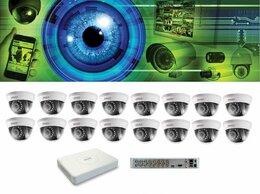 Готовые комплекты - Видеонаблюдение на 16 камер, 0