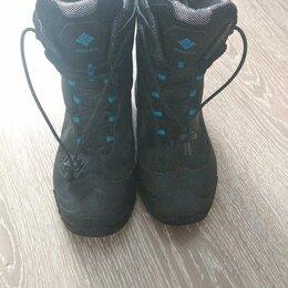 Сапоги, полусапоги - Зимние ботинки для мальчика COLUMBIA, размер 37, 0