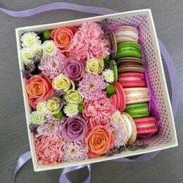 Подарочные наборы - Съедобная коробочка с цветами №116, 0