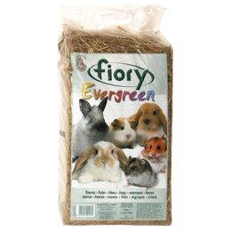 Сено и наполнители - Fiory Evergreen 1 кг (30 л)  Сено для грызунов, 0