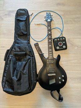 Электрогитары и бас-гитары - Электрогитара Lag Roxane 200 matt black + чехол, 0
