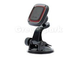 Держатели для мобильных устройств - Авто-держатель HOCO CA28 магнитный (черный), 0