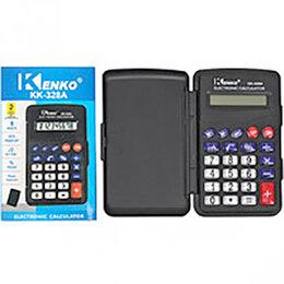 Калькуляторы - Калькулятор Kenko 8-разрядный с крышкой, в индивидуальной упаковке, размер уп..., 0