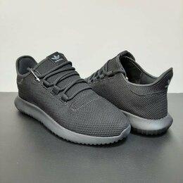 Кроссовки и кеды - Кроссовки Adidas Tubular Shadow Knit черные А800, 0