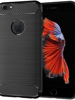 Чехлы - Чехол для iPhone 6 Plus (6S Plus) цвет Black…, 0