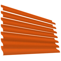 Заборы, ворота и элементы - Ламель Еврожалюзи RAL2004 Оранжевый Апельсин, 0
