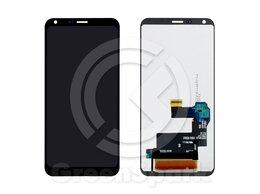 Дисплеи и тачскрины - Дисплей для LG Q6/Q6a/Q6 Plus M700 +тач черный, 0