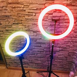 Осветительное оборудование - Кольцевая лампа со штативом, 0