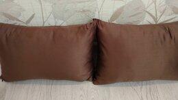 Декоративные подушки - Декоративные подушки шоколадные, 0