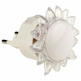 Настольные лампы и светильники - Ночник Uniel DTL-308 DTL-308-Подсолнух/RGB/4LED/0,5W, 0