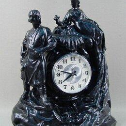 """Часы настольные и каминные - Часы каминные """"данила мастер и хозяйка медной горы"""". касли. 1960, 0"""