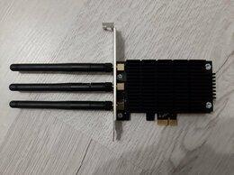 Оборудование Wi-Fi и Bluetooth - Wi-Fi адаптер TP-Link Archer T9E PCI-E, 0