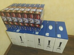 Игровые приставки - Новая/ Sony PlayStation 5 (PS 5) DE & Disk/ Обмен, 0