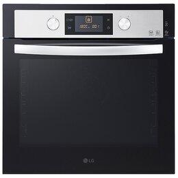 Духовые шкафы - Духовой шкаф LG LB645059T1 стекло черное/нержавеющая сталь, 0
