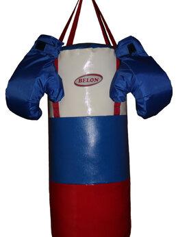 Тренировочные снаряды - Набор для бокса ПАТРИОТ: груша цилиндр 60 см х…, 0