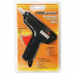 Клеевые пистолеты - Клеевой пистолет PROCONNECT 60Вт для стержня 11мм 12-0104, 0