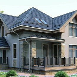 Готовые строения - Дом каркасный дом под ключ с проектом, 0