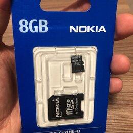 Карты памяти - Карта памяти MicroSD 8Gb 4 class Nokia, 0