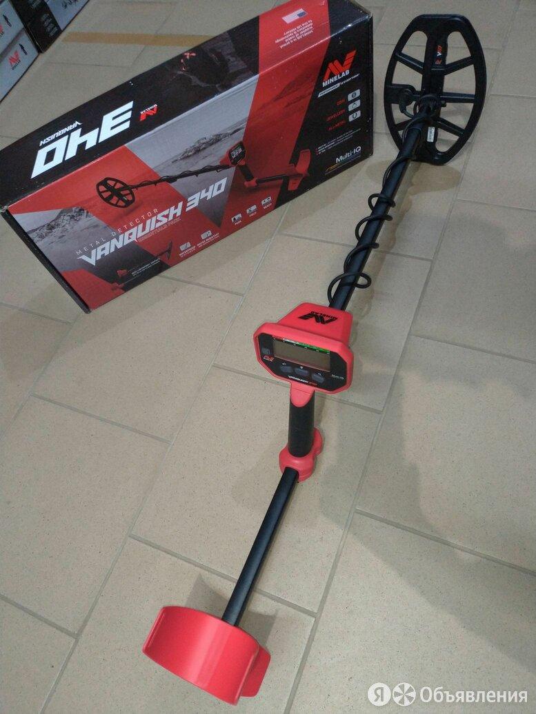 Металлоискатель Minelab Vanquish 340 по цене 18990₽ - Металлоискатели, фото 0
