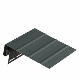Сайдинг - J-фаска для софита темно-коричневая Германия, 0
