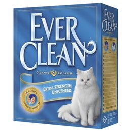 Наполнители для туалетов - Ever Clean Extra Strength Unscented 10 кг, 0