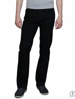 Джинсы - Черные мужские джинсы W5750 RAW BLACK, 0