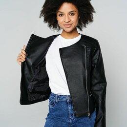 Куртки - Кожаная куртка Твое размер xs 42 новая, 0