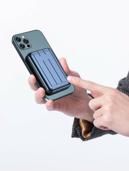 Универсальные внешние аккумуляторы - Магнитный powerbank, 0