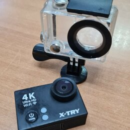 Экшн-камеры - Экшн-видеокамера X-TRY XTC150 UltraHD WiFi, 0