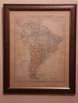 Картины, постеры, гобелены, панно - Иудейские древности. Карта распределения…, 0