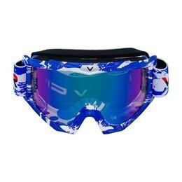 Средства индивидуальной защиты - Очки защитные кроссовые Vemar (Вемар) - 1021C, 0