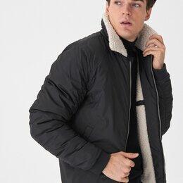 Куртки - Куртка Пилот из ткани на меховой подкладке Новая, 0