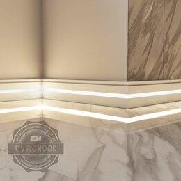 Плинтусы и пороги - Плинтус напольный PN 030 LED, 0