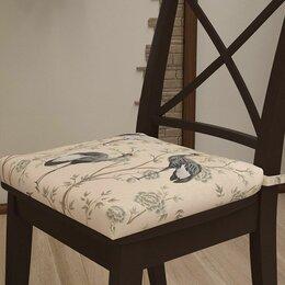 """Декоративные подушки - Подушка на стул """"Журавли"""", 0"""