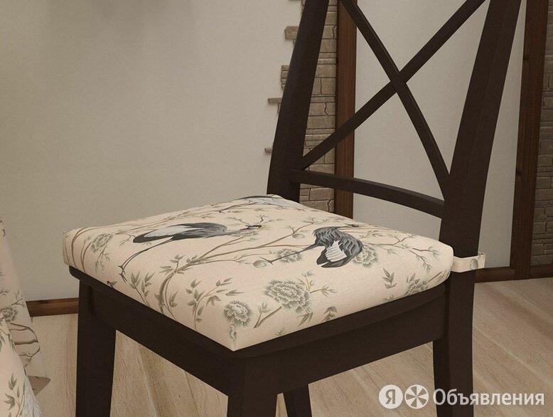 """Подушка на стул """"Журавли"""" по цене 410₽ - Декоративные подушки, фото 0"""
