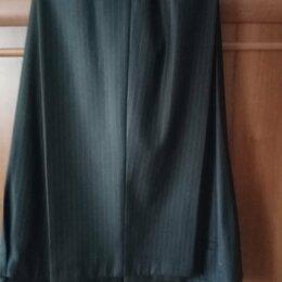 Брюки - Лёгкие летние брюки, чёрные с полоской. 182-116-118,цена 1000 руб. , 0