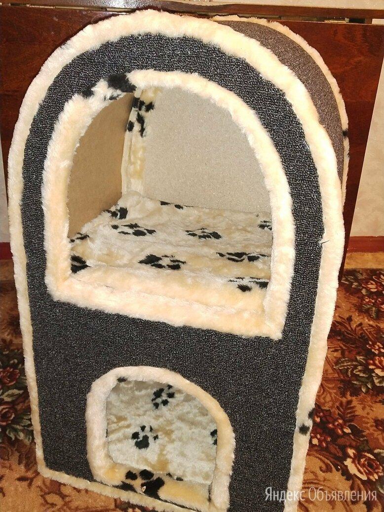 Домик двухэтажный для кошек.  по цене 2700₽ - Лежаки, домики, спальные места, фото 0