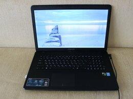 """Ноутбуки - Игровой мощный ноутбук Asus i7 GTX950M 17"""", 0"""