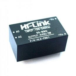 Аксессуары для сетевого оборудования - Блок питания AC/DC конвертер HLK-PM01, 5В 3Вт, 0